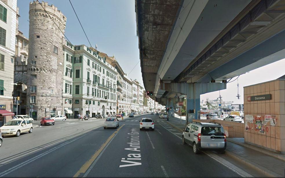 C 39 erano una volta i vigili urbani al comune di genova for Arredo bagno via gramsci genova